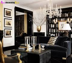 black living room decor black and gold living room living room decorating design
