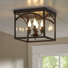 Kitchen Lighting Flush Mount by Flush Mount Lighting You U0027ll Love Wayfair