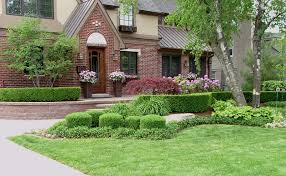 Formal Front Yard Landscaping Ideas - residential landscaping residential landscaping birmingham