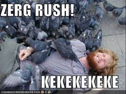 Rush Meme - omg zerg rush video game memes in 30 seconds youtube