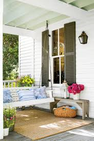 Southern Living Outdoor Spaces by Peaceful Porch Swings Southern Living