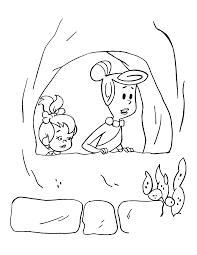 coloring flintstones coloring pages 11