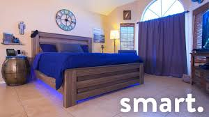 Best Smart Bed Epic Smart Home Bedroom Tech Tour Youtube