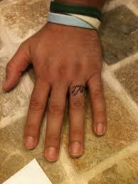 download men wedding ring tattoo danielhuscroft com