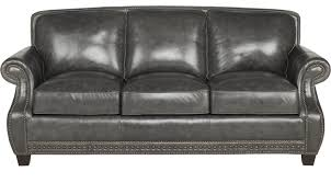 Peyton Leather Sofa Black Sofas U0026 Couches