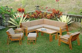 Teak Sectional Patio Furniture 10 Summer Ready Pieces Of Teak Patio Furniture