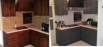 renovation cuisine v33 impressionnant renovation meuble cuisine v33 7 avant apres jpg