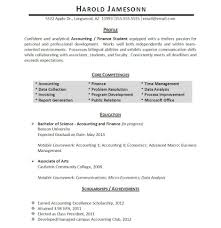 College Student Resume Examples by Coursework Section Resume