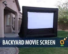 outdoor inflatable movie screens arizona movie screen rental phoenix