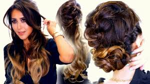 cute homecoming hairstyles curly cute back to hairstyles