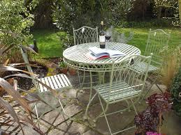 folding metal garden chairs rustic metal outdoor furniture