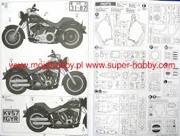 Radio Control Harley Davidson Fat Boy Harley Davidson Flstfb Fat Boy Lo Tamiya 16041