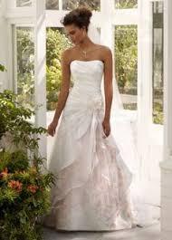 david bridals david s bridal satin a line halter with split front dress