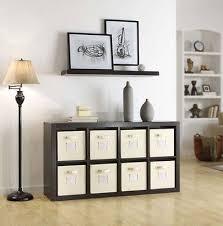 Cube Room Divider - espresso room divider cube storage organizer home bookcase shelf