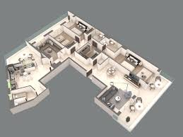 Floor Plan Finder 3d Floor Plan Visualisationthree Bedroom Apartment Plans One