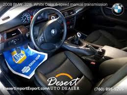 bmw 328i 2008 manual 2008 bmw 328i white color 6 speed manual transmission desert