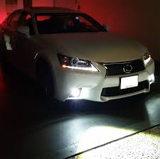 lexus is350 jdm fog lights amazon com ijdmtoy lexus f sport 15w high power projector led fog