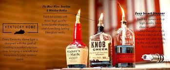 Kentucky travel bottles images 3 pack wine bottle tiki torch kit includes 3 tiki jpg