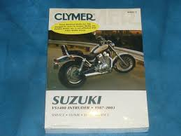 clymer suzuki vs1400 intruder 1987 2003 maintenance and repair