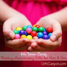 6th anniversary gifts for him 6th year candy wedding anniversary gifts for him and gift