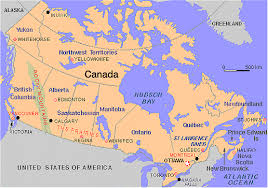 map canada east coast east coast of canada map major tourist attractions maps