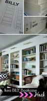 Bliss Home And Design Instagram by Ikea Billy Bookcase Library Wall U003e U003e U003e Getting That Built In Feeling
