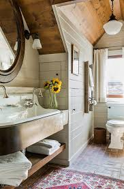 bathroom wood ceiling ideas design ideas gorgeous attic bathroom with wood ceiling and brick