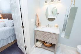 saving small and narrow spaces beachy bathroom decoration with old