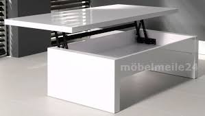 Wohnzimmertisch H E 60 Cm Couchtisch Höhenverstellbar Modern Mxpweb Com