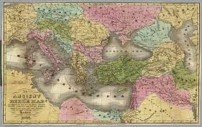 Ancient Map Bible Map David Rumsey Historical Map Collection
