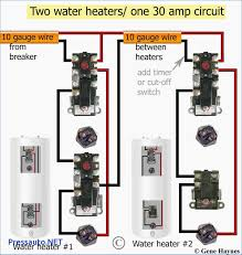 wiring diagram for water heater thermostat water heater schematic