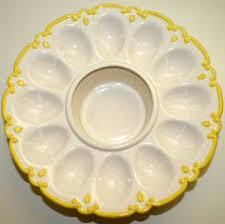 egg plate pottery deviled egg plate egg plates cups holders