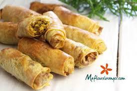 cuisine marocaine brick cigares au poulet