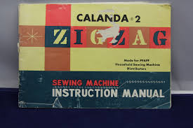 pfaff calanda 2 sewing machine manual from schillersontheweb on