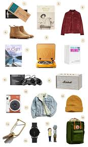 gift guide for dudes a beautiful mess