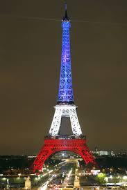 Paris Flag Paris Under Siege New York Lights World Trade Centre Red White