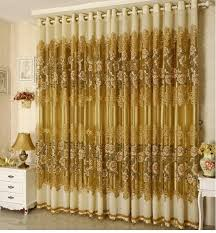 luxury voile curtains blackout curtains for living room
