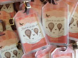 save the date luggage tags creative tip luggage tags hooper calligraphy
