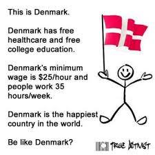 Denmark Meme - viral meme crowns denmark as best country but denmark has some
