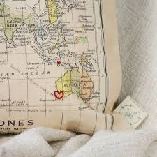 Maps Of The World Com by Map Of The World Personalised Cushion By And Bird