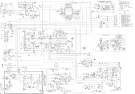home theater circuit diagram sanyo c29lf41 crt tv circuit diagram schematic diagrams