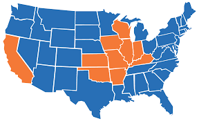 Missouri Illinois Map by Case Managers Medical And Vocational Case Management For Workers