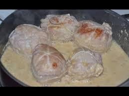 cuisiner les paupiettes de porc recette facile paupiettes de porc à la crème