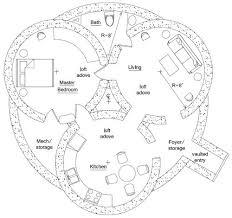 Hobbit Hole Floor Plan | triple dome survival shelter hobbit hole hobbit and house
