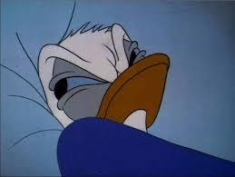 Donald Duck Face Meme - donald duck bed rage meme generator