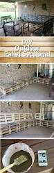 Outdoor Pallet Furniture Best 25 Pallet Sectional Ideas On Pinterest Pallet Bench