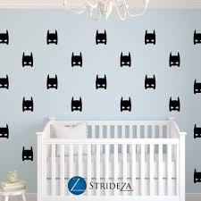 Boy Nursery Wall Decals Superhero Decal Superhero Decorations Superhero Wall Decal