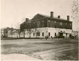 old brick capitol and the old capitol prison virtual library of congress photo