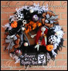 Halloween Jack Skeleton by Irish U0027s Wreaths Where The Difference Is In The Details