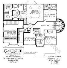 lighthouse floor plans cedar point lighthouse plan house plans by garrell associates inc